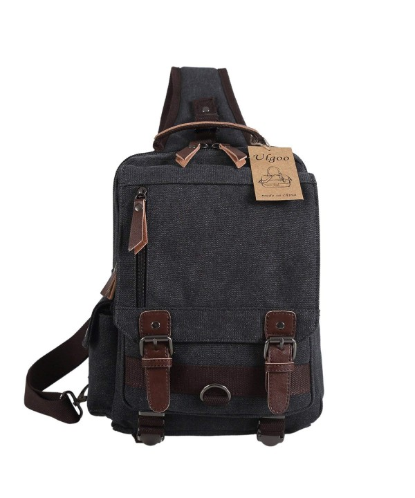 Ulgoo Canvas Messenger Strap Shoulder