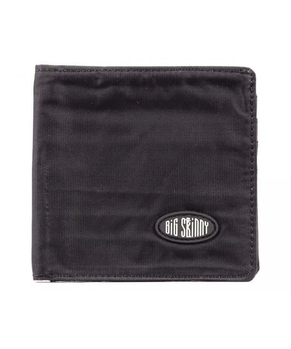 Big Skinny Bi Fold Wallet Zippered