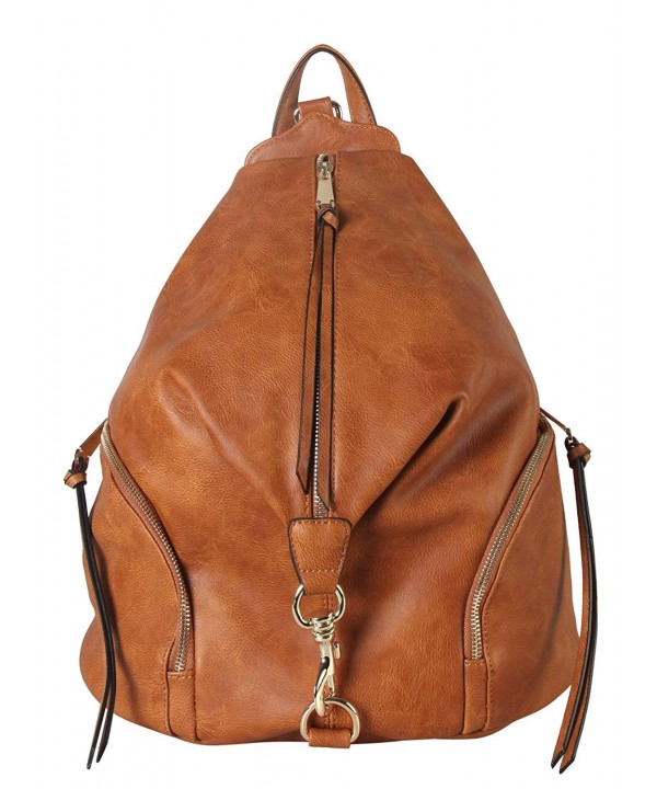Diophy Leather Fashion Backpack AB 052