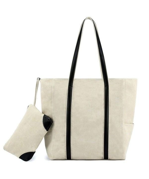 Plambag Canvas Shopper Top Handle Shoulder
