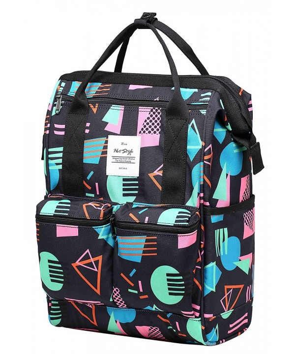 Doctor College Backpack Daypack Geometrics