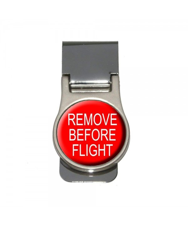 Remove Before Flight Airplane Warning