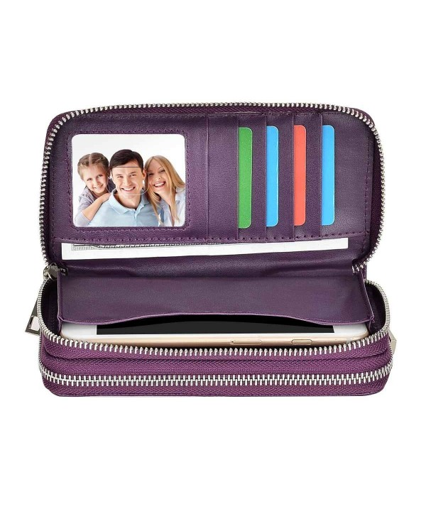 HAWEE Zippered Premium Compartments Purple Lichi