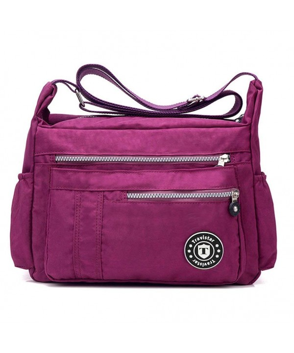 Travistar Multi Pocket Crossbody Waterproof Shoulder