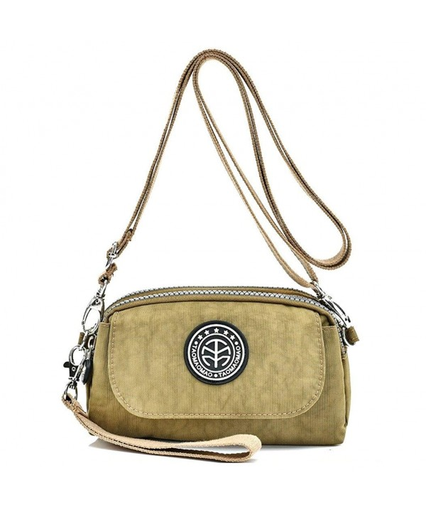 Womens Water resistant Wristlet Crossbody Shoulder