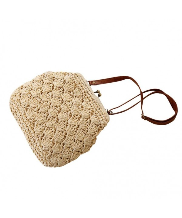 Flada Crochet Shoulder Vintage Buckle