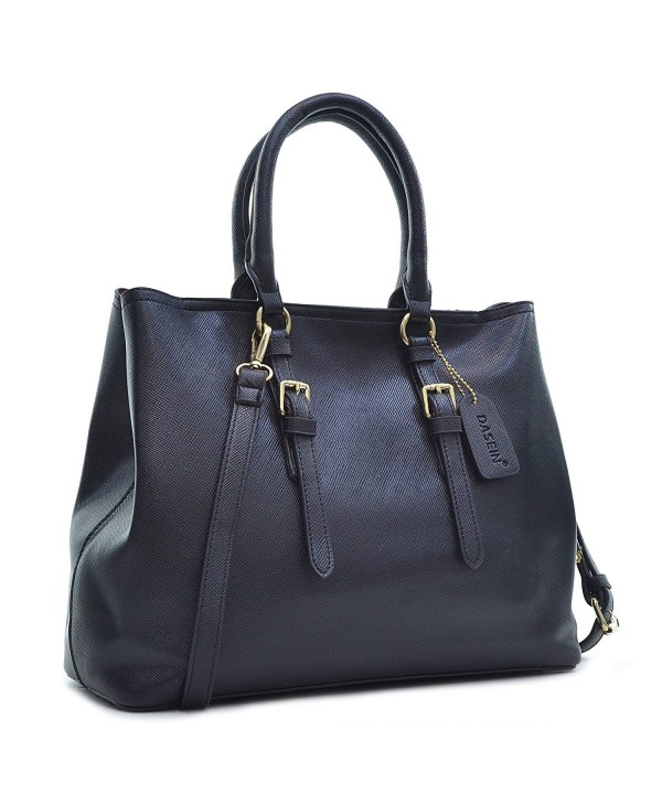 Saffiano Leather Satchel Handbag Shoulder