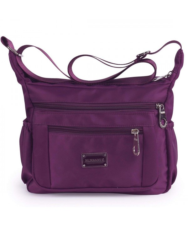 Crossbody Resistant Lightweight Shoulder purple