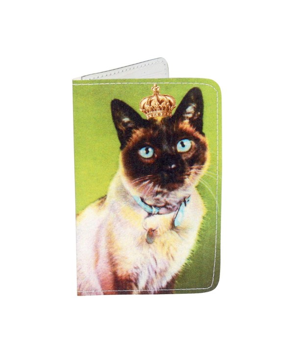 Royal Green Kitty Holder Wallet