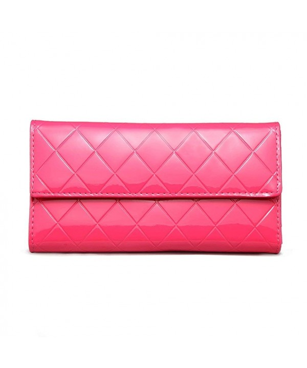 Hoxis Diamond Quilted Golssy Leather