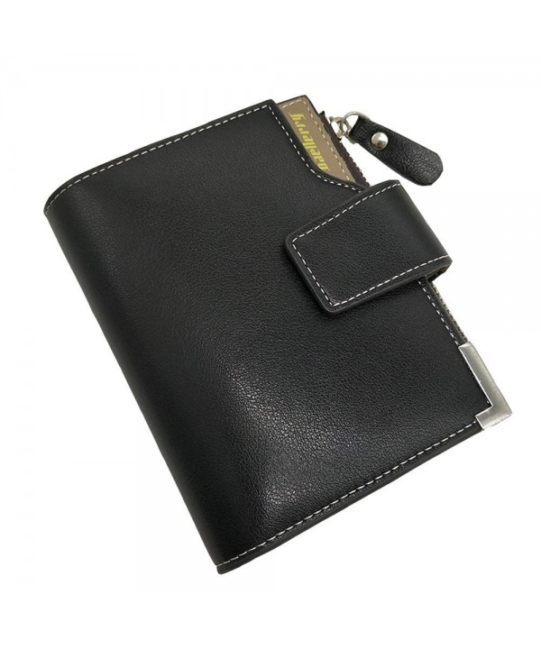 Baellerry wallets Bifold Zipper Leather