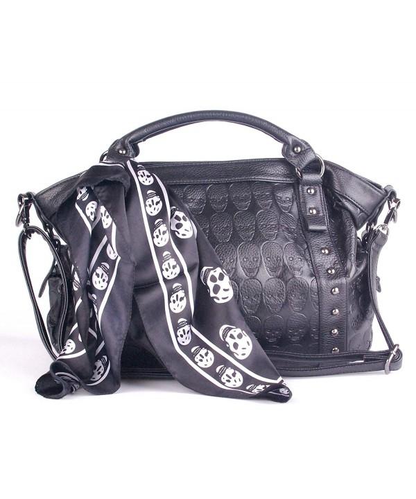 Leather Satchel Handbags Pockets Clearance
