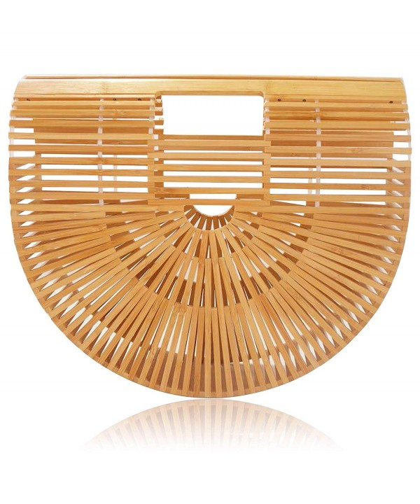 Bamboo Handbag without Handmade Natural