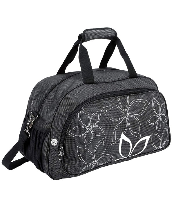 Fashionable Flowers Pattern Sports Carryon