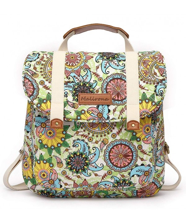 Malirona Backpack Convertible Rucksack Floral