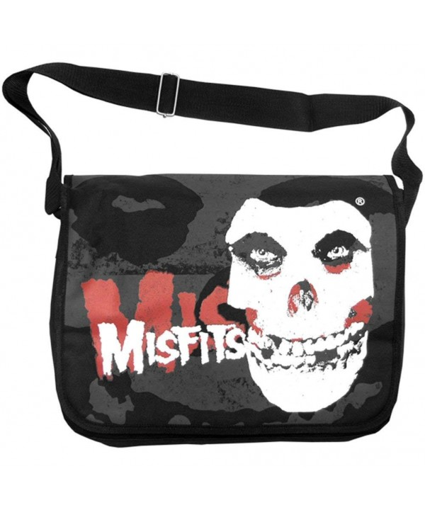 Misfits Messenger Bag Black