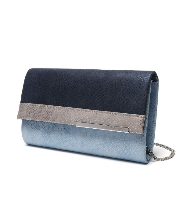 two nines Snakeskin Clutches Removable