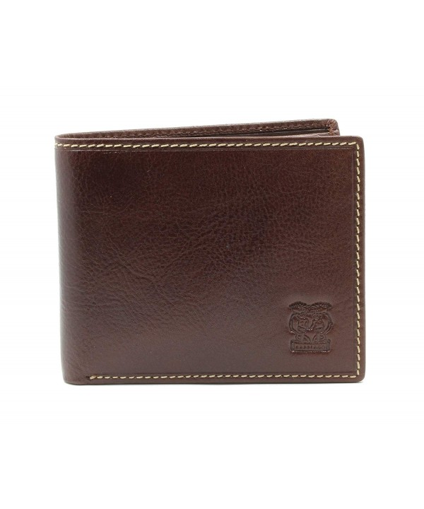 CAPPIANO Leather Section Billfold Wallet