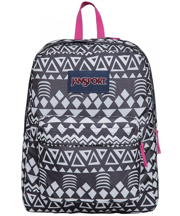 JanSport Unisex SuperBreak Black Graphic