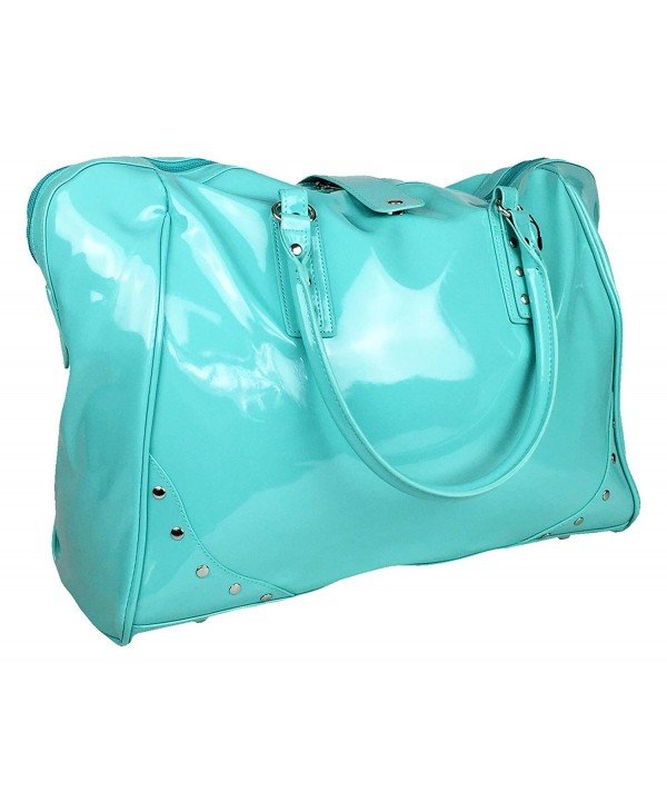 Trendy Flyer Luggage Overnight Turquoise