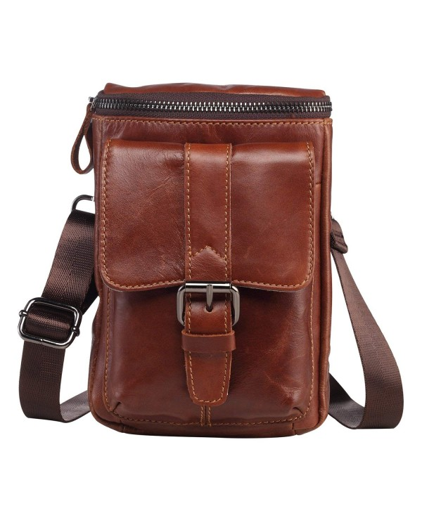 Sunmig Genuine Messenger Shoulder Crossbody