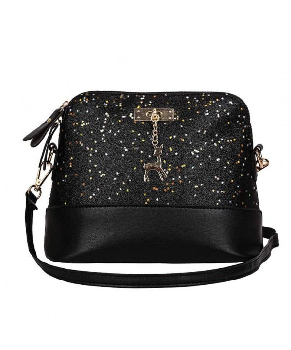 Fashion Double zippers Crossbody Afterso