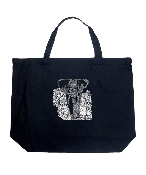Pop Art Word Large Tote