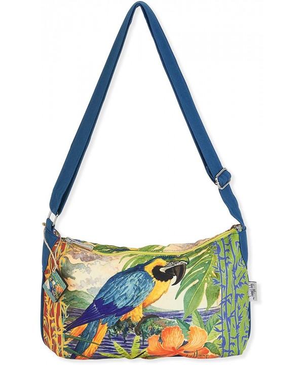 Guy Harvey Parrot Handbag green