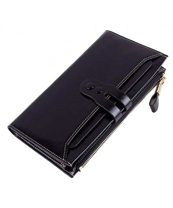 SAIERLONG Passport Genuine Leather Wallets