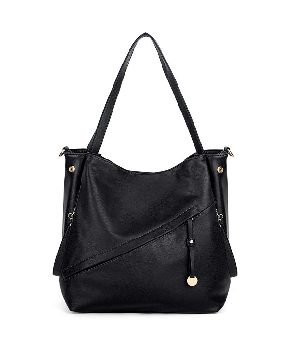 UTO Handbag Leather Handle Shoulder