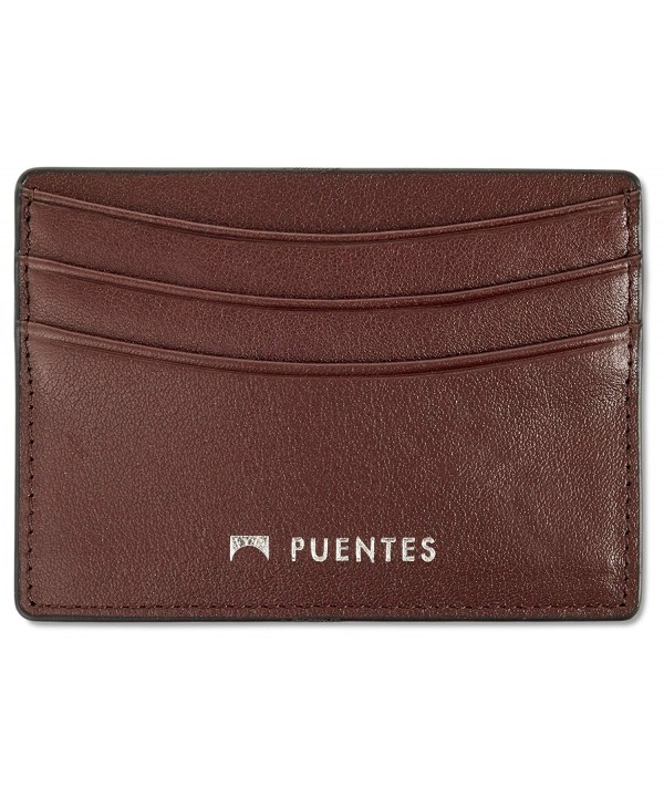 Genuine Leather Holder 5 Pocket Wallet