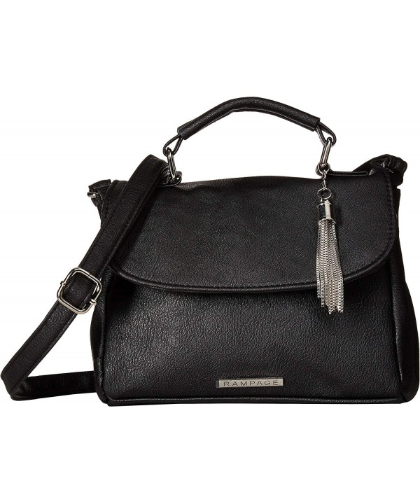 Rampage Womens Crossbody Chain Tassel