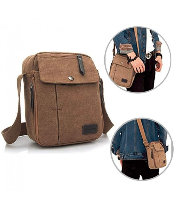 Messenger Shoulder Organizer Crossbody Multi pocket