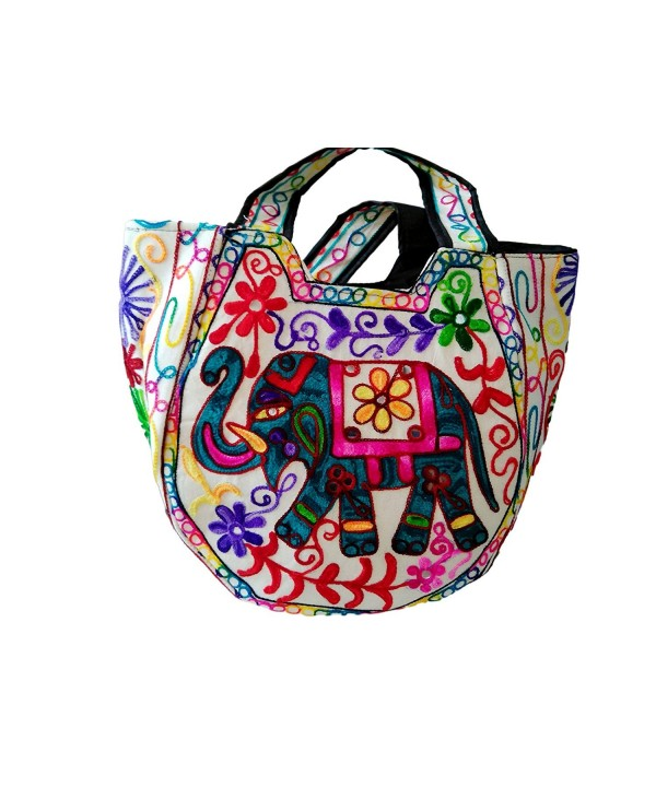 Indian Handmade bag Women Shoulder bag Elephant Embroidery bag Vintage bag