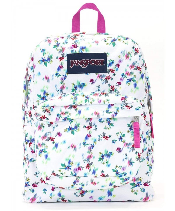 Jansport Superbreak Backpack multi floral