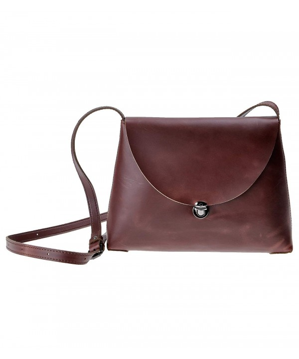 ZLYC Minimalist Handmade Leather Shoulder