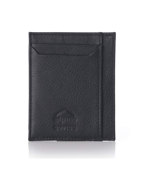 Alpine Swiss Minimalist Holder Wallet