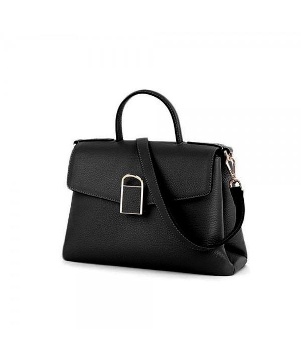 Leather Handbag Crossbody Removable Shoulder
