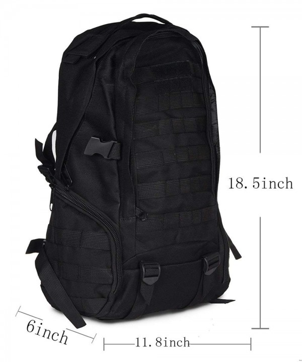 Cool Military Tactical Backpack B07MC16 Black