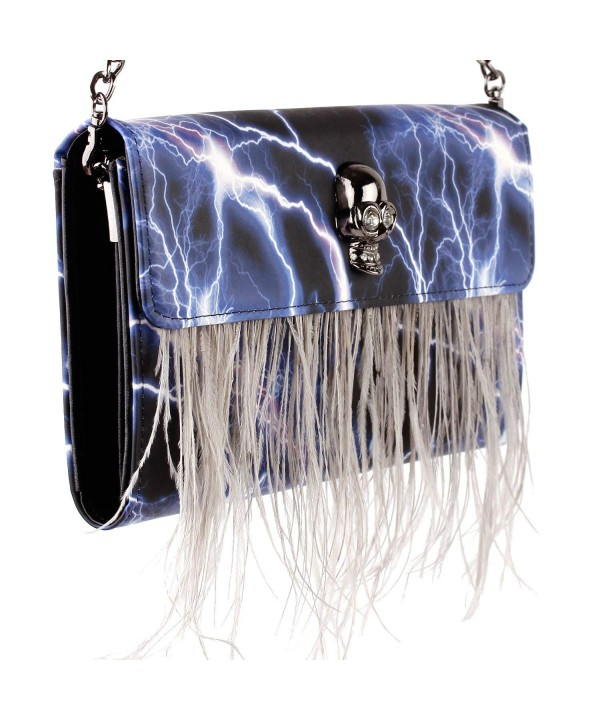 Thunder Lightning Feather Fashion FB90025BU