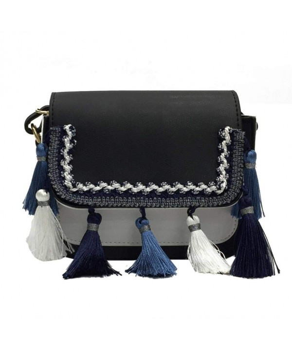 Fullfun Tassel Crossbody Shoulder Handbag