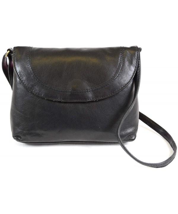 Ladies Premium Leather Shoulder Cross