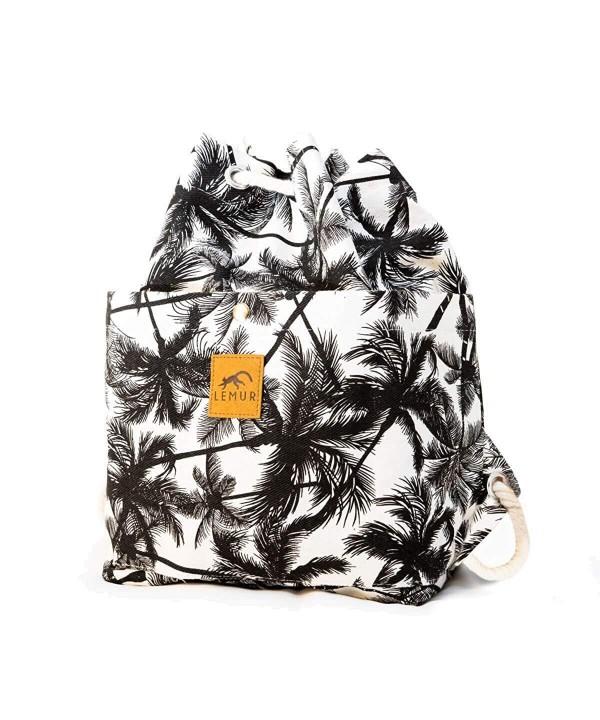 Canvas Drawstring Bucket Bag Shoulder