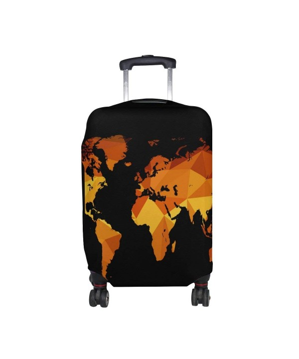 Orange Luggage Suitcase Protector Travel