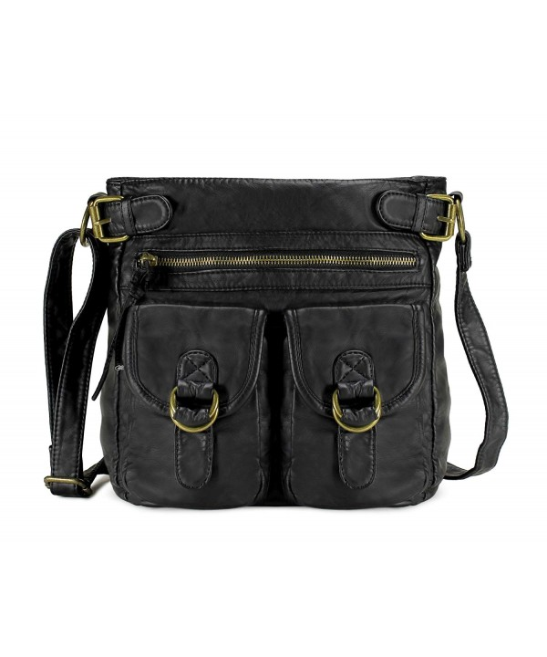 Scarleton Simple Duplet Pocket Crossbody