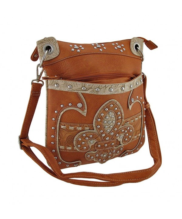 Studded Western Floral Embossed Womens