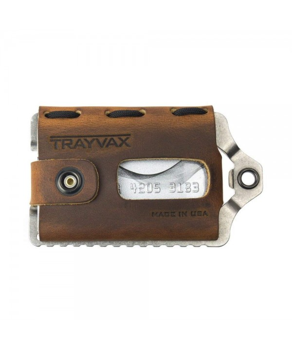 Trayvax Element Wallet Tobacco Brown
