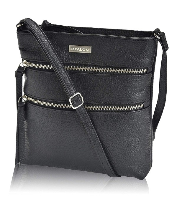 Leather Crossbody Crossover Shoulder Handbags