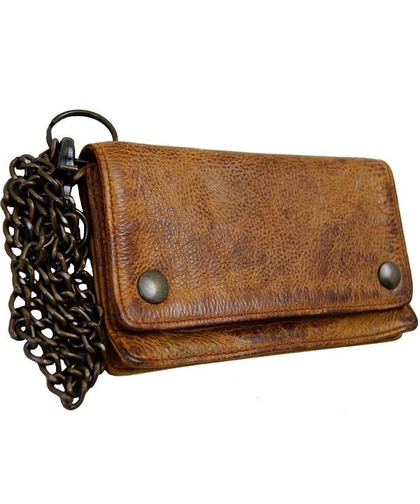 BARON MALTZAHN wallet CARNEGIE Rugged Hide Leather