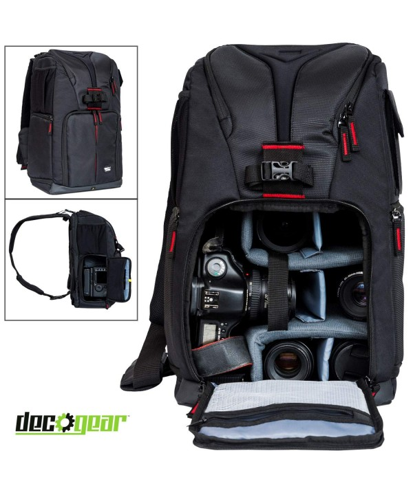 Deco Gear Photographers Accessories Compartment